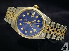 Rolex Datejust Date Watch Diamond