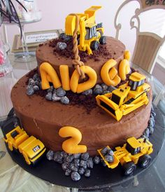 Construction themed birthday party ideas