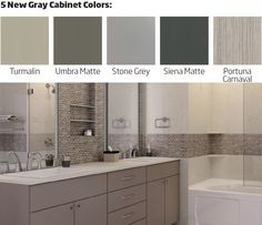 """""""Gray is the New White!"""" Gray cabinets are quickly becoming the new standard in kitchen and bath design. Refacing Kitchen Cabinets, Gray Cabinets, Cabinet Refacing, New Cabinet, Kitchen And Bath Design, Granite, Kitchen Remodel, Furniture, Home Decor"""