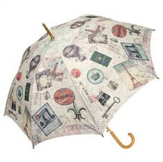 Travel Cane Umbrella Features: - Available to Ship March 2015 - Auto Open - Quality Construction with Exceptional Printing - Polyester Fabric Specifications: 48""