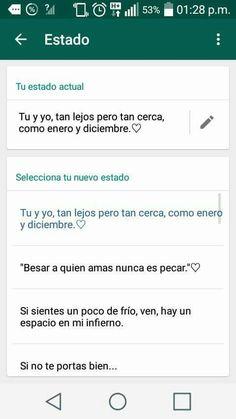 Estado De Whatsapp Frases Pinte