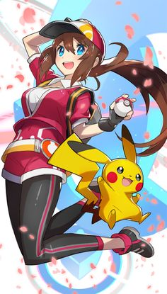 Pokemon Go: Trainer Pokemon Oc, Pokemon Fan Art, Calem Pokemon, Serena Pokemon, Female Pokemon Trainers, Photo Pokémon, Chibi, Pikachu Pikachu, Another Anime