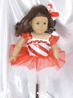 Nutcracker Dance Outfit for an 18 inch by DancinDollsDesigns, $25.00