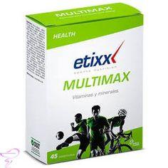 Etixx Health Multimax es un complemento de vitaminas, minerales y oligoelementos para los momentos de más elevada exigencia física y mental de la temporada. http://www.cuidadosfarmaceuticos.com/etixx-health-multimax-45-comprimidos.html