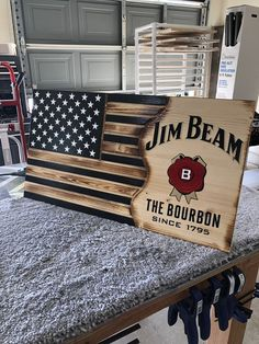 Excited to share this item from my shop: Jim beam Man Cave Room, Man Cave Diy, Man Cave Home Bar, Rustic Man Cave, Man Cave Wall Decor, Man Cave Garage, Garage Bar, Jim Beam, Dremel