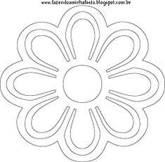 Fazendo a Minha Festa Infantil: Enfeite de Canudinhos de Flores! Leaf Template, Flower Template, Templates, Giant Paper Flowers, Diy Flowers, Drawings To Trace, Paper Art, Paper Crafts, Mothers Day Crafts