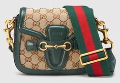 0be6b8c105ba88 Get the trendiest Cross Body Bag of the season! The Gucci Lady Web Medium  Green Cross Body Bag is a top 10 member favorite on Tradesy.
