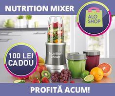 Profita la maxim de nutrientii din fructe si legume cu Nutrition Mixer!
