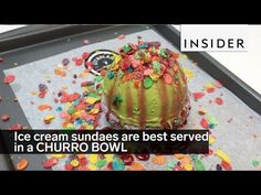 Ice cream sundaes are best served in a CHURRO BOWL - YouTube