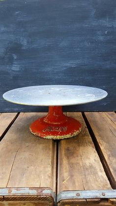 Vintage Bakery Rotating Cake Stand Cake Decorator Pastry Display