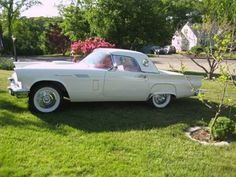 1957 Ford Thunderbird (CT) - $75,000 Please call Frank @ 203-467-4197 to see this beauty.