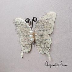 Papillon 3D décoration soie et transparent motifs noirs cm Transparent, Motifs, Decoration, Insects, Brooch, Support, Dimensions, 3d, Jewelry