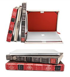Perfect MacBook cover, when you don't use your computer you can hide it and put it in a pile of books