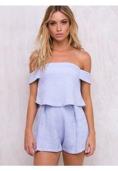 1e22e8c868 Ashland Off The Shoulder Romper - Sale. Dresses Online AustraliaPrincess  PollyLayers ...
