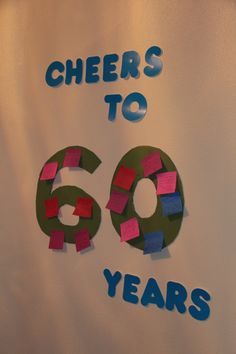 Lame sign~ but love the saying Cheers to 50 years