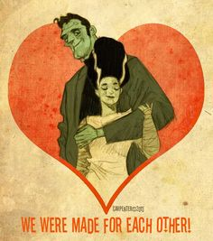 Made for Each Other! Monster Valentine