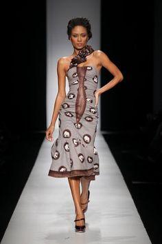 by Bongiwe Walaza African Inspired Fashion, African Print Fashion, Africa Fashion, Tribal Fashion, Fashion Prints, African Prints, African Fabric, Fashion Styles, Women's Fashion
