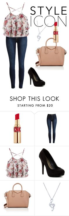 """""""Cute"""" by electraz on Polyvore featuring Yves Saint Laurent, Michael Antonio, Givenchy and BERRICLE"""