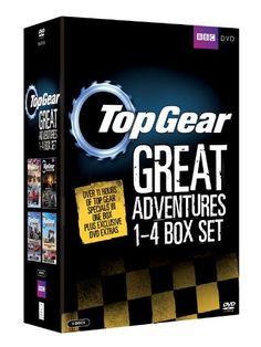 Top Gear - The Great Adventures: 1-4 Box Set [DVD]  sur amazon UK