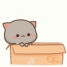The perfect Kitty Kitten Love Animated GIF for your conversation. Discover and Share the best GIFs on Tenor. Images Kawaii, Cute Cartoon Images, Cute Love Cartoons, Cute Cartoon Wallpapers, Diy Kawaii, Kawaii Cat, Kawaii Chibi, Cute Chibi, Kawaii Anime