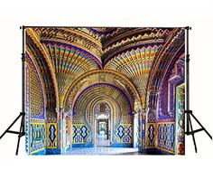 Purchase Colorful Church Roof Photography Backdrop Building Background from Hedda Stan on OpenSky. Castle Backdrop, Video Backdrops, Digital Photography, Product Photography, Marble Floor, Wall Patterns, Photo Studio, Taj Mahal, Tapestry
