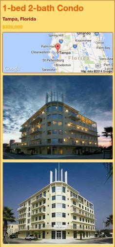1-bed 2-bath Condo in Tampa, Florida ►$339,000 #PropertyForSale #RealEstate #Florida http://florida-magic.com/properties/79165-condo-for-sale-in-tampa-florida-with-1-bedroom-2-bathroom