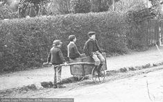Photo of Shottery, Village Children Playing c.1900. Part of The Francis Frith Collection, free to browse online. Come and visit - your nostalgic journey has just begun! #francisfrith