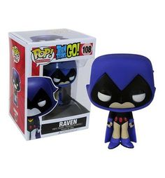 Teen Titans Go Raven Pop Vinyl Figure Pop Action Figures, Pop Vinyl Figures, Custom Funko Pop, Funko Pop Vinyl, Deathstroke, Funko Pop Dolls, Pop Figurine, Funk Pop, Pop Toys