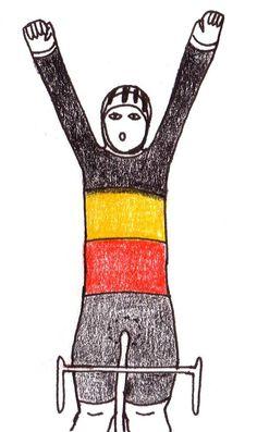 3werf hoera  Nys wint alweer de Belgische trui op het BK!  Je kan dus nog schitteren op je 35ste (dat beloofd voor mijn toekomst).