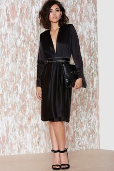 Vintage Yves Saint Laurent Midnights Dress