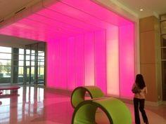 Wall of Light, Nemours Children's Hospital, Orlando, FL.