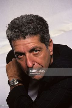 Canadian singer-songwriter, musician, poet, and novelist Leonard Cohen at a photo shoot on July 18, 1988 in New York City. (Photo by Waring Abbott/Getty Images)