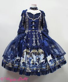 Angelic Pretty Crystal Dream Carnival Dress Set