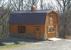 14' x 26' Two Story Pioneer Cabin