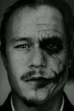 I really loved Heath Ledger as an actor no matter what movie he had a role in. My most favorite movie of all time that he starred in was The Dark Knight. I can honestly admit that I fell in love with Heath Ledger and him as the Joker. Heath Ledger Joker, The Joker, Joker And Harley, Joker Batman, Harley Quinn, Hee Man, Pretty People, Beautiful People, Beautiful Person