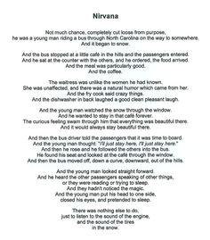 Nirvana - Charles Bukowski