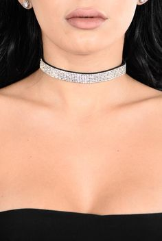 My Baby Choker - Clear