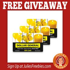 Free Dollar General Gift Card Giveaway