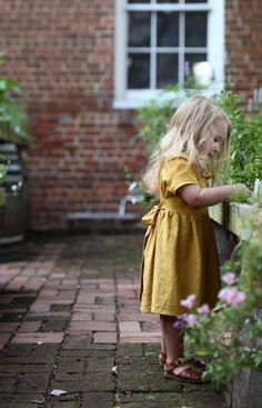 The Linen Tilly Dress | SweetHannahBDesigns on Etsy
