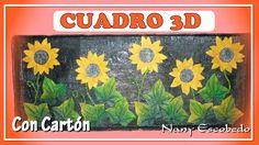 CUADRO 3D CON CARTÓN