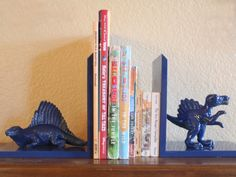 DIY Nursery Bookends #DIY #nursery #baby