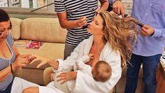 Hoe model Gisele Bundchen borstvoeding hip maakt