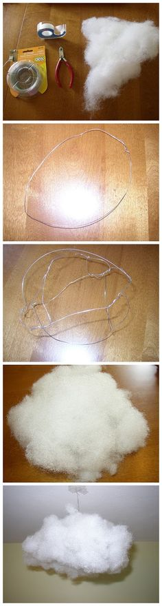 joybobo: How to Make a Hanging Cloud