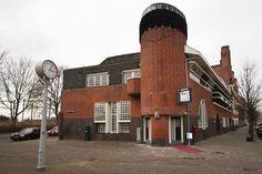 """Museum Het Schip (""""The Ship"""") in Spaarndammerbuurt district of Amsterdam"""