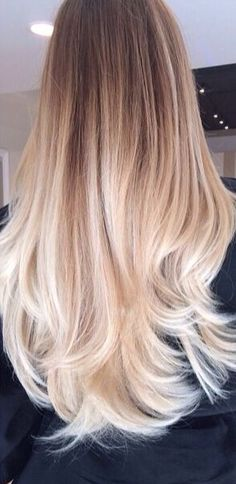 This is how ombré hair should look, not cheap and tacky how some peoples do :0