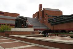 The British Library, London...amazing collection but not user friendly...