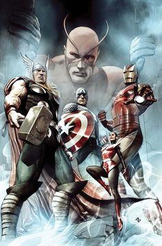 Avengers of Old #marvel