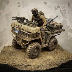 Military Diorama, Military Art, Gi Joe, Scale Models, Military Action Figures, Cafe Racer Build, Army Vehicles, Toy Soldiers, Special Forces