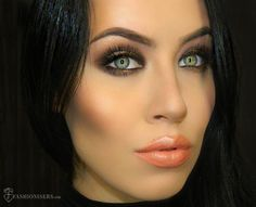 Jennifer Lopez Inspired Party Makeup Tutorial  #makeup #makeuptutorial #partymakeup