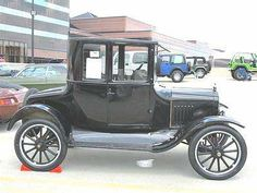 1924 Ford Model T 5 Window Coupe